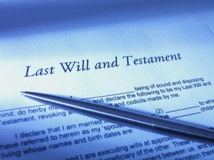 Last Will and Testament image Probate and Will